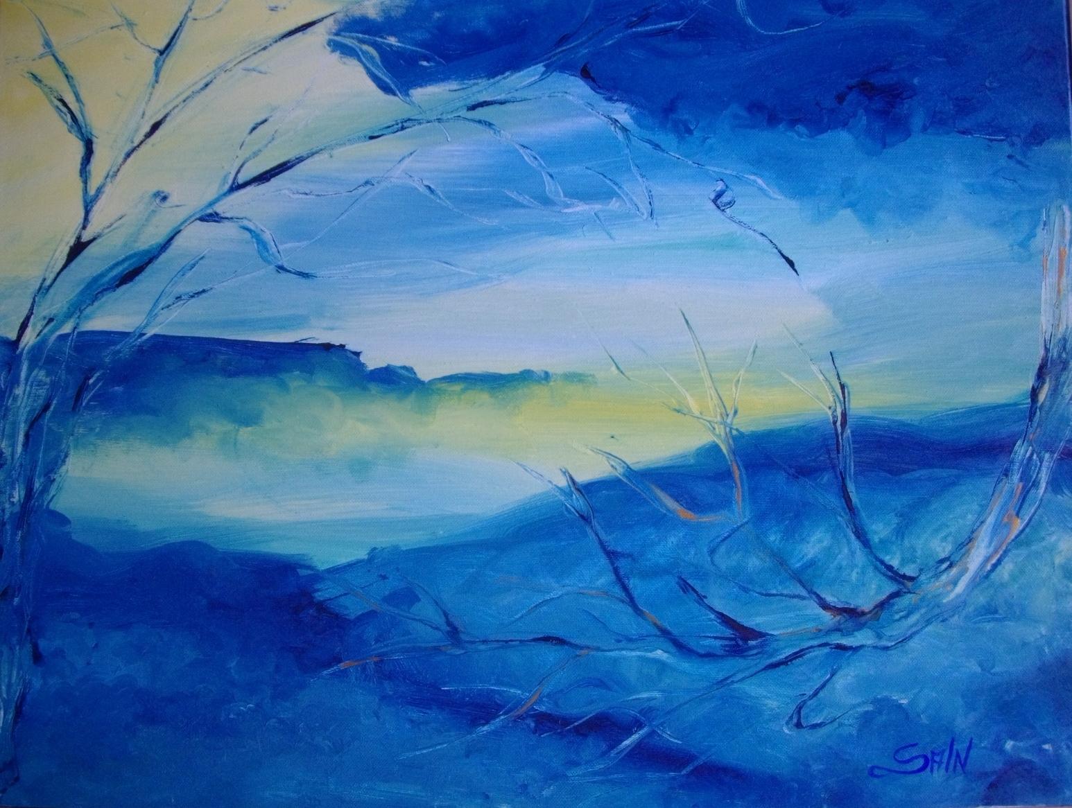 Tra il vento e il mare --- quadro Sabry Ingenito
