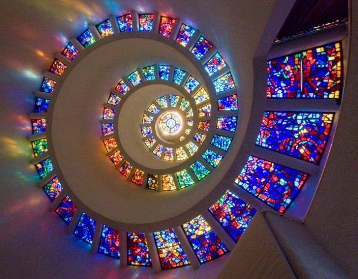 vetrata-artistica-spirale